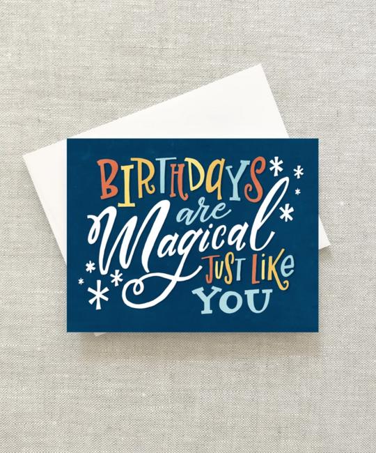 2021 Co. - 2021 Magical Birthdays Card