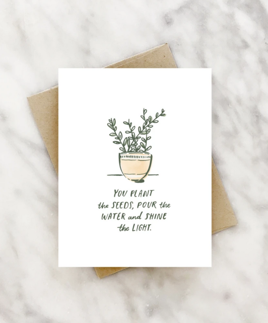 2021 Co. - 2021 You Plant the Seeds Card