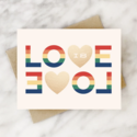 2021 Co. - 2021 Love is Love Card