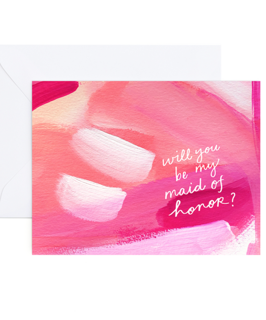 Evergreen Summer - ES Maid of Honor Card (Whitney Card)