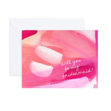 Evergreen Summer - ES Bridesmaid Card (Whitney Card)