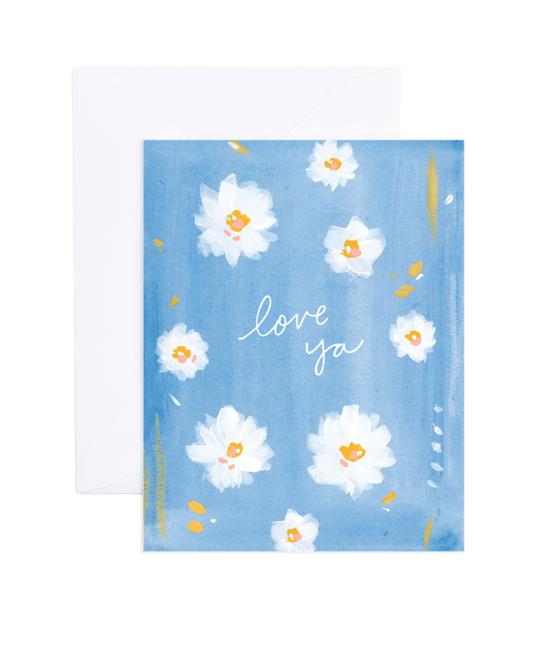 Evergreen Summer - ES Love Flower Card (Hannah Card)