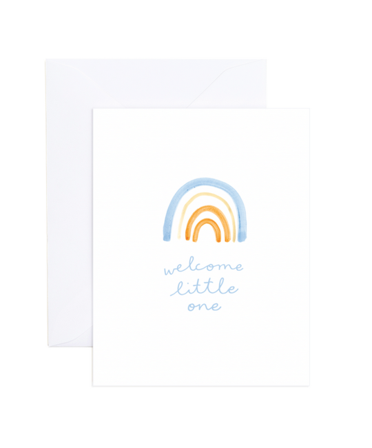 Evergreen Summer - ES Welcome Little One Baby Card (Penelope Card)