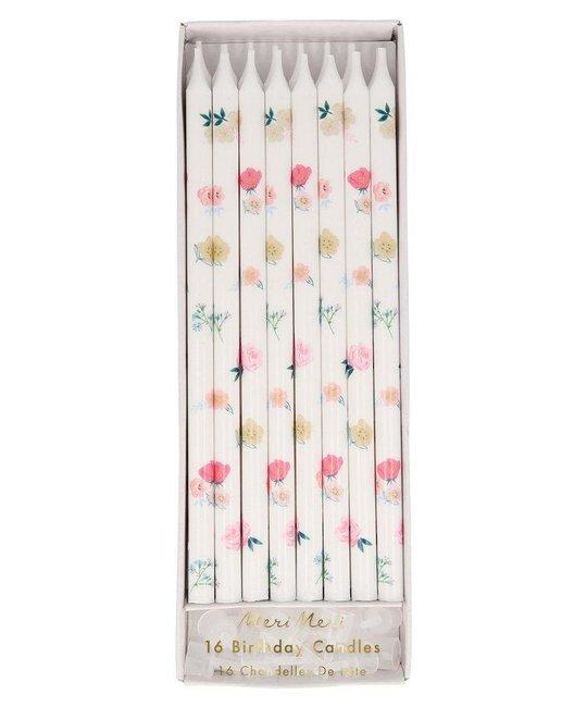 Meri Meri - MEM Tapered Floral Candles