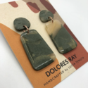 Dolores Ray - DR Trapezoid Drop Earrings
