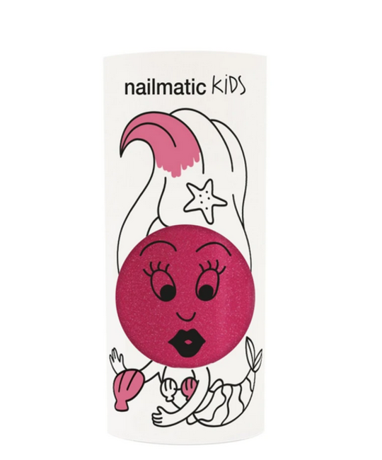 Nailmatic - NAI Kids Sissi Dark Pink Glitter Nail Polish