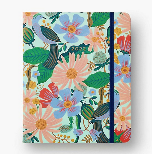 Rifle Paper Co - RP Rifle Paper Co 2022 Dovecote Covered Spiral 17 Month Planner
