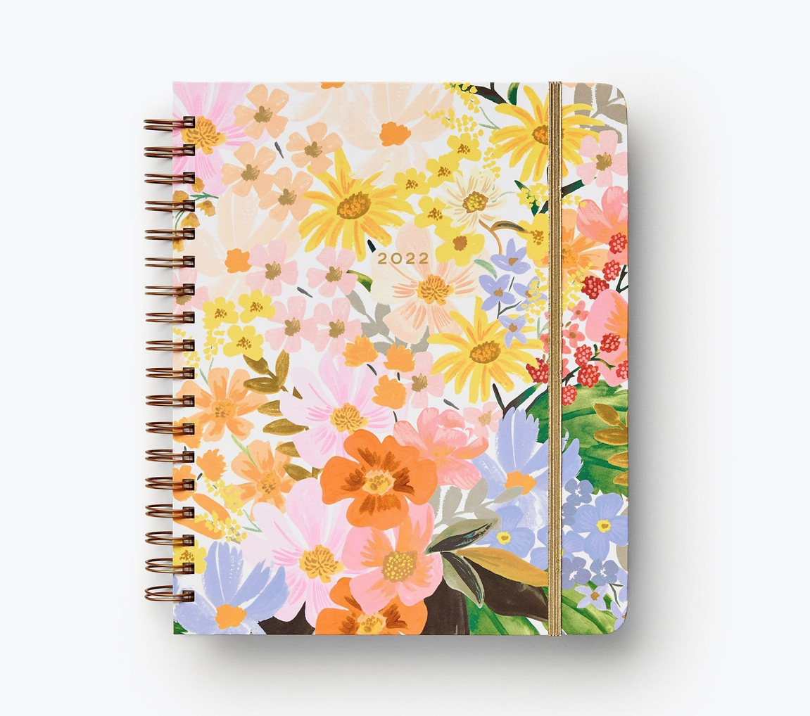 Rifle Paper Co - RP Rifle Paper Co 2022 Marguerite Hardcover Spiral 17 Month Planner