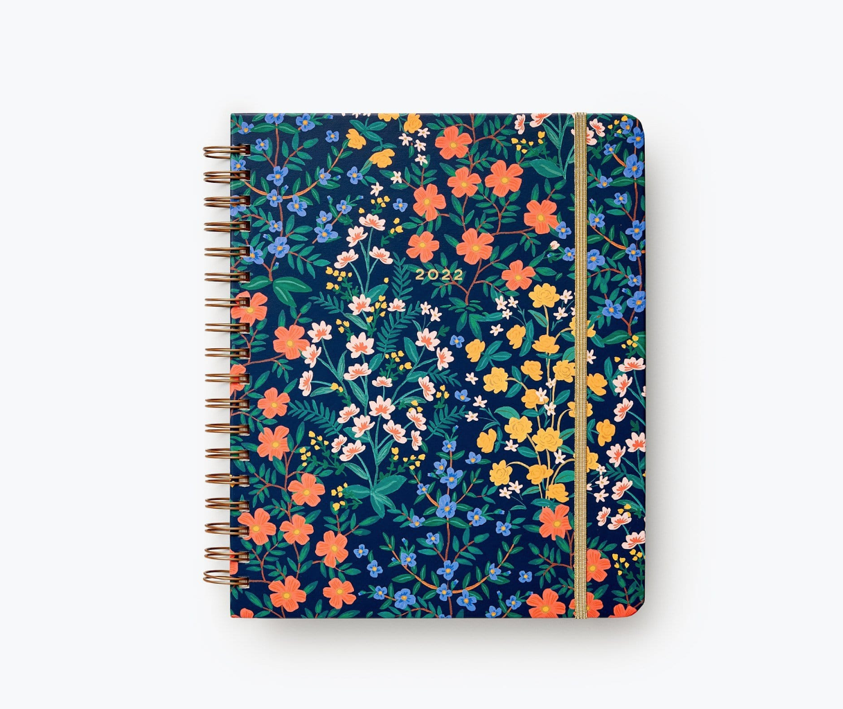Rifle Paper Co - RP RP AG17 - 2022 Wildwood Hardcover Spiral 17 Month Planner