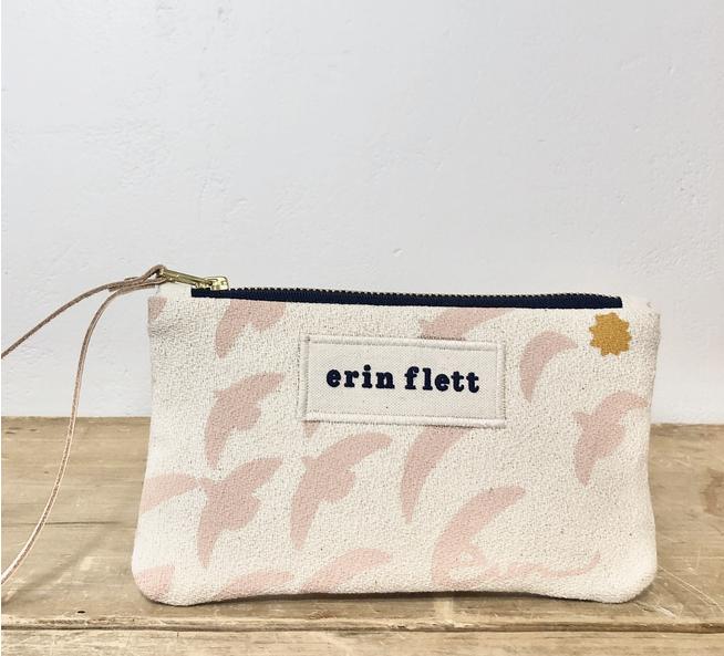 Erin Flett - ERF Erin Flett Linen Wristlet