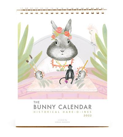 Dear Hancock - DH The 2022 Bunny Calendar