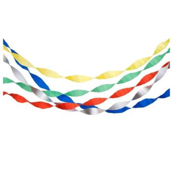 Meri Meri - MEM Birthday Crepe Streamers