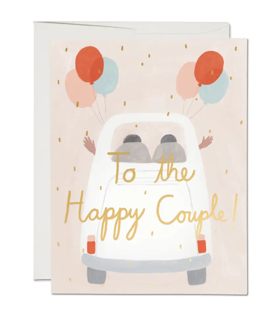 Red Cap Cards - RCC Happy Couple Wedding Card