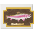 Red Cap Cards - RCC Mounted Fish Birthday Card