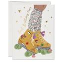 Red Cap Cards - RCC Roller Skate Birthday Card