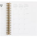 One Canoe Two Letterpress - OC 2021-2022 Emerson Arches Academic Planner
