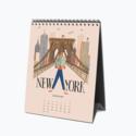 Rifle Paper Co - RP Rifle Paper Co 2022 Explore the World Desk Calendar