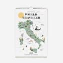 Rifle Paper Co - RP Rifle Paper Co 2022 World Traveler Wall Calendar