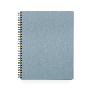 Appointed - APP Appointed 2021-2022 Weekly Planner, Chambray Blue