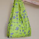 Baggu - BA Baggu Lime Floral Sun Print Standard Baggu Reusable Bag