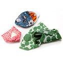 Z Wraps Eco-Friendly Food Wrap Set of 3, Dots/Petals/Leafy