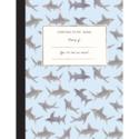 Mr. Boddington's Studio - MB Sharks Composition Notebook