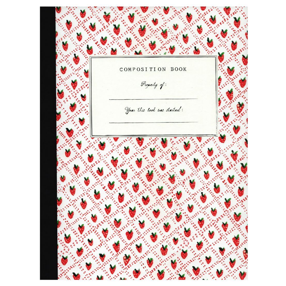 Mr. Boddington's Studio - MB Strawberry Composition Notebook