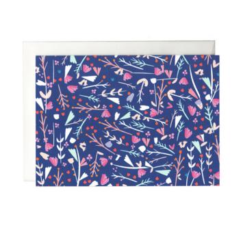 Mr. Boddington's Studio - MB Blue Garden Notecards, Set of 6