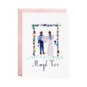 Mr. Boddington's Studio - MB Meet You Under the Hoopa Wedding Card