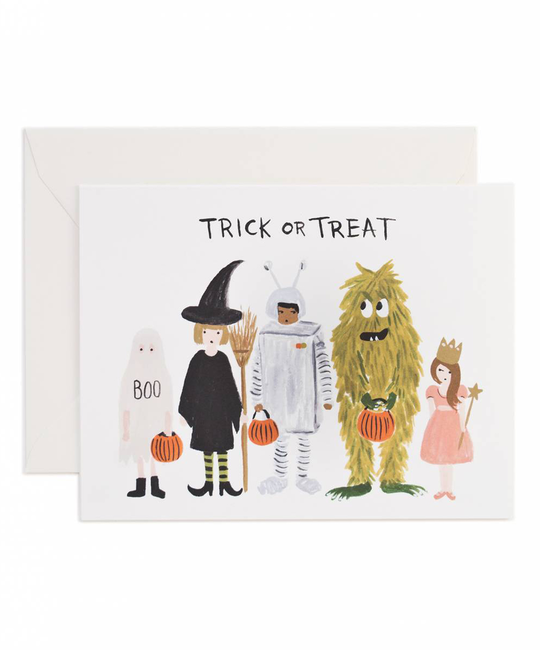 Rifle Paper Co - RP Halloween Costumes Card
