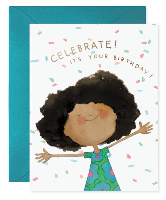 E. Frances Paper Studio - EF Confetti Birthday Card
