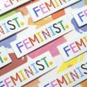 Angelope Design Feminist Glossy Vinyl Sticker
