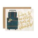 One Canoe Two Letterpress - OC Luggage Adventure