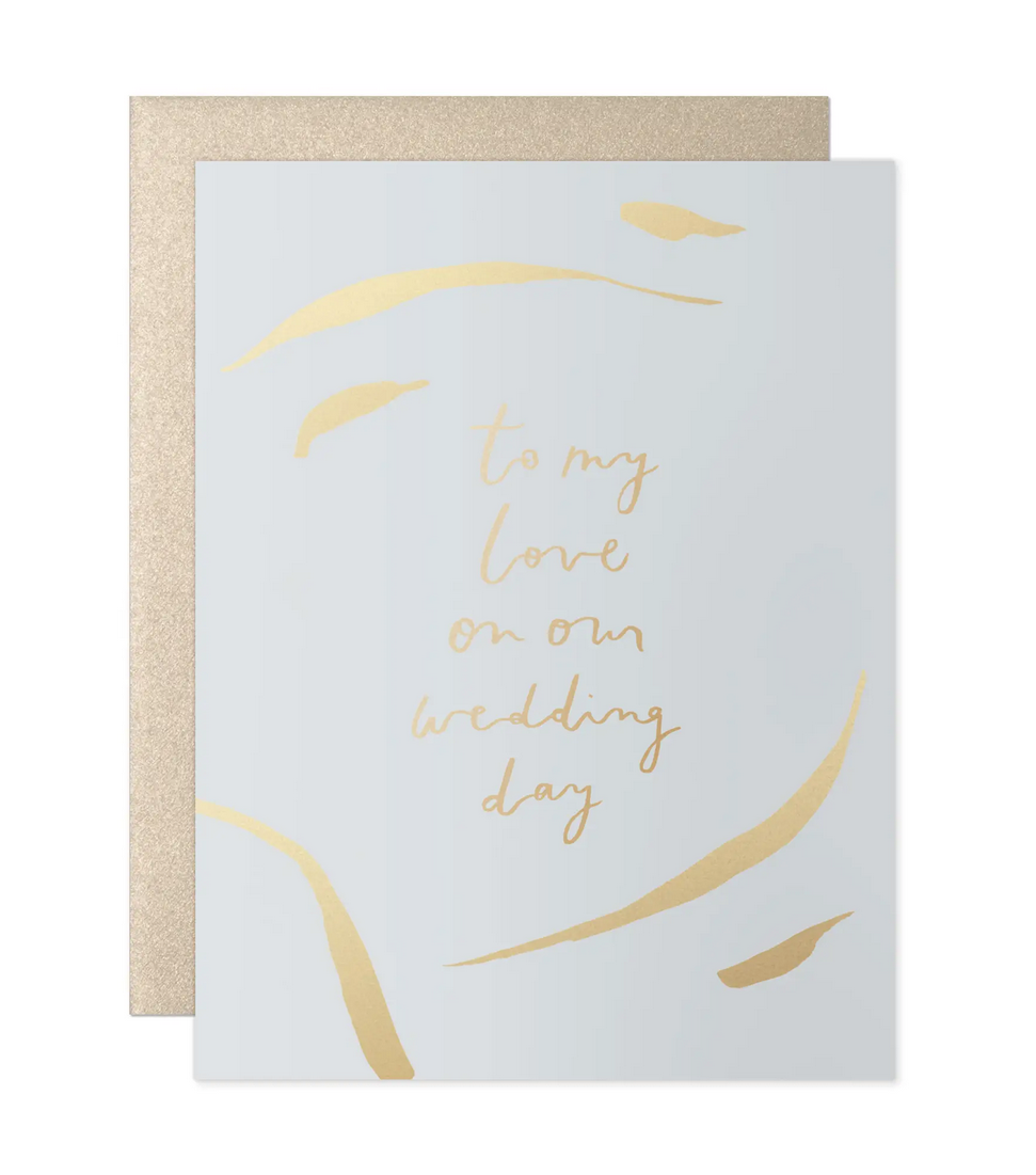Our Heiday - OH To My Love Stokes Wedding Day Card