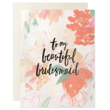 Our Heiday - OH To My Beautiful Bridesmaid Card