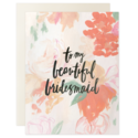 Our Heiday - OH To My Beautiful Bridesmaid, Set of 6