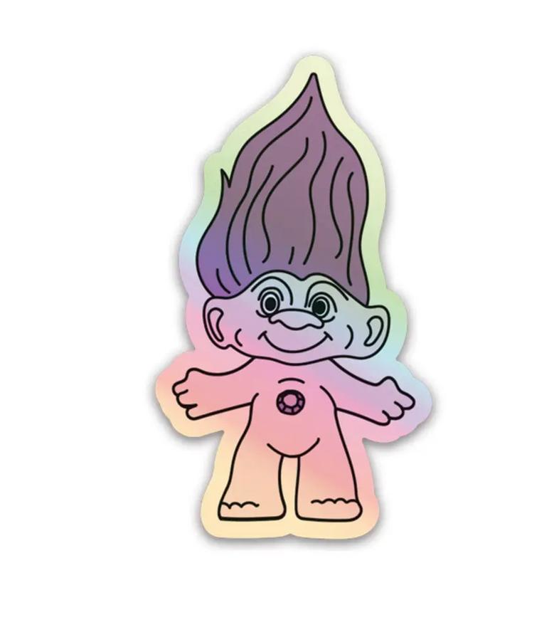 Party Mountain - PM Holo Troll Sticker