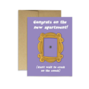 Party Mountain - PM Friends Congrats on the Apartment Card