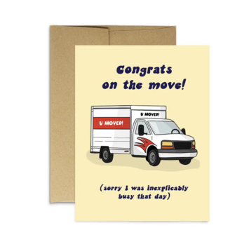 Party Mountain - PM U Moved Card