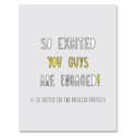 Near Modern Disaster - NMD Engaged Guys Card