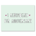 Near Modern Disaster - NMD Remembered Our Anniversary Card