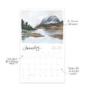 One Canoe Two Letterpress - OC 2022 Land and Sky Wall Calendar