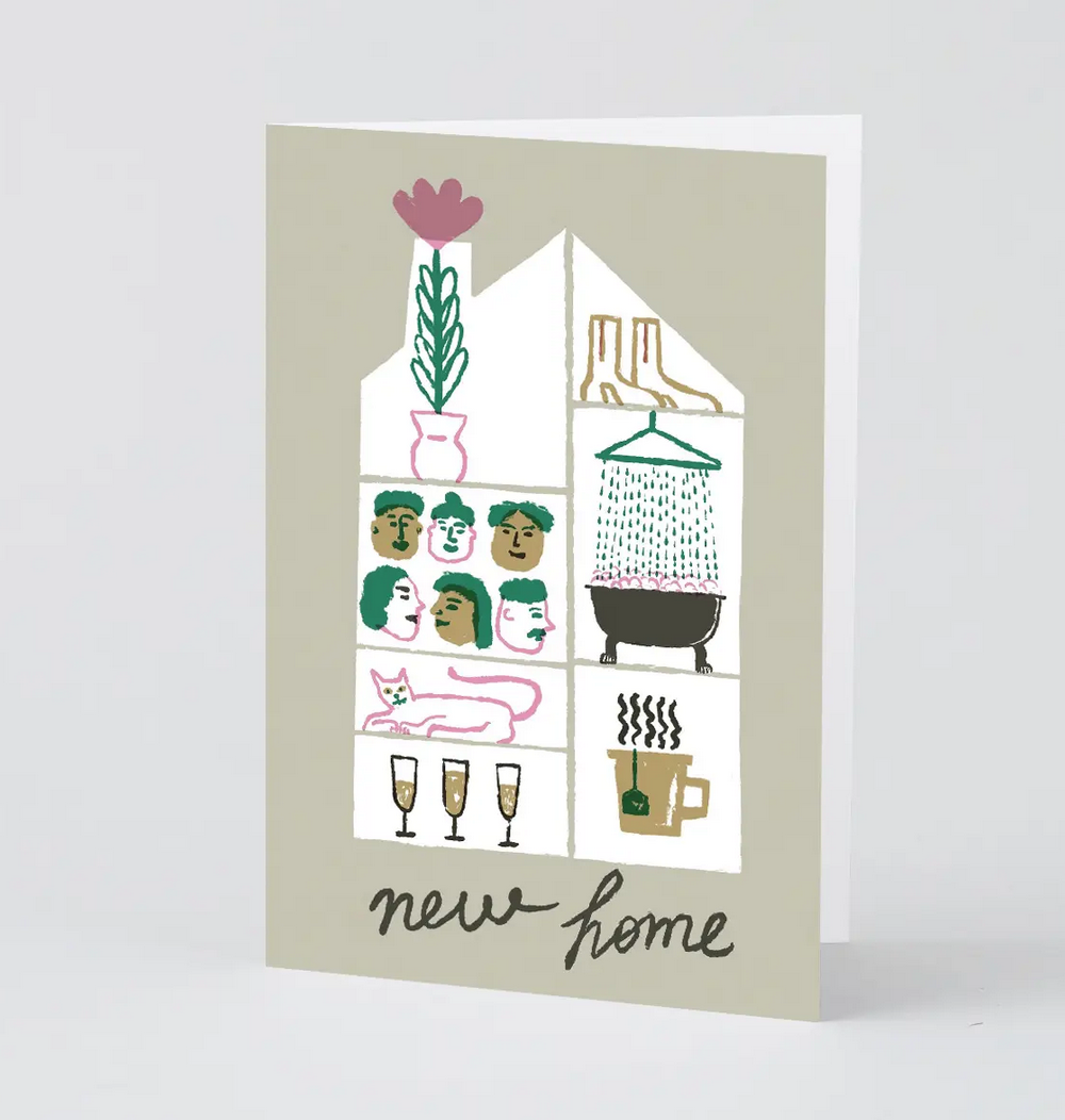 Wrap - WRP New Home Card