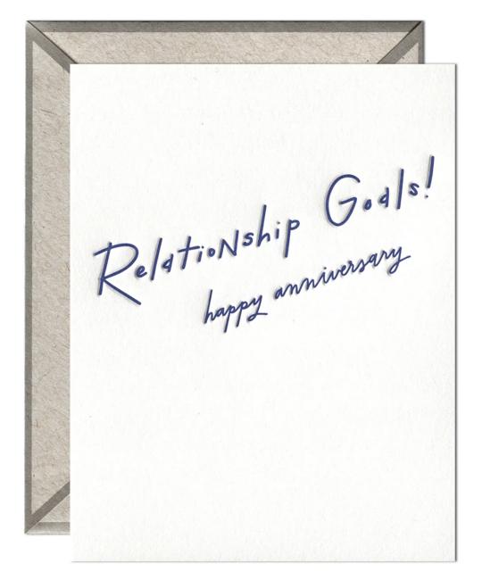Ink Meets Paper - IMP Relationship Goals! Happy Anniversary Card