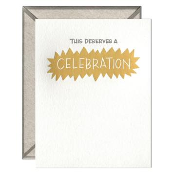 Ink Meets Paper - IMP This Deserves A Celebration Card