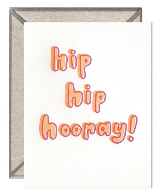 Ink Meets Paper - IMP Hip Hip Hooray Card