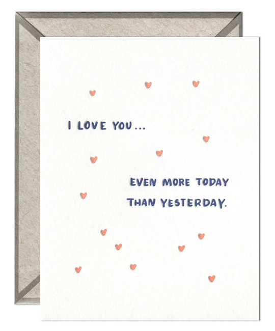 Ink Meets Paper - IMP Even More Today Than Yesterday Card