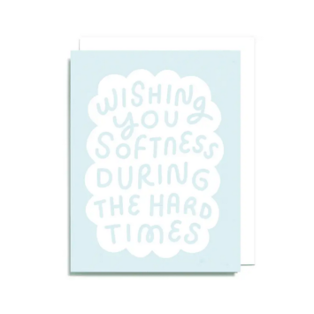 Worthwhile Paper - WOP Softness Support Card