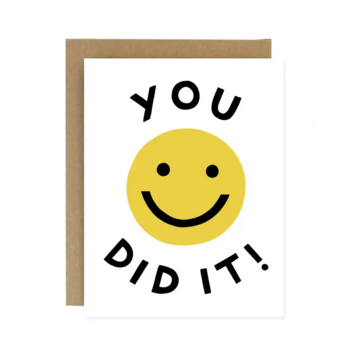 Worthwhile Paper - WOP You Did It Card