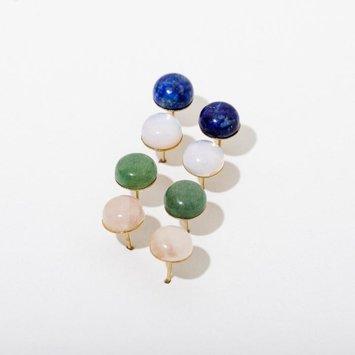 Larissa Loden Jewelry - LLJ Larissa Loden Gumdrop Gemstone Earrings